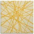 rug #333033 | square yellow abstract rug