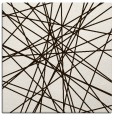 rug #333041 | square brown graphic rug