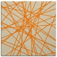 rug #333061 | square orange abstract rug