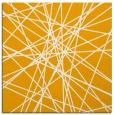 rug #333081 | square light-orange graphic rug
