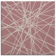 rug #333085 | square pink rug