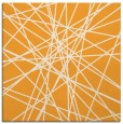 rug #333093 | square light-orange graphic rug