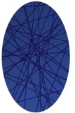 rug #333201 | oval blue-violet popular rug