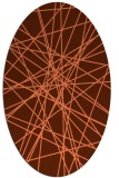rug #333298 | oval abstract rug