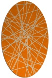 rug #333414 | oval graphic rug