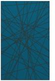 rug #333529 |  blue abstract rug
