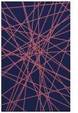 rug #333541 |  pink abstract rug