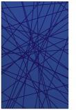 rug #333553 |  blue-violet graphic rug