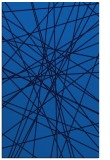 rug #333617 |  blue abstract rug