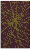 rug #333677 |  purple abstract rug
