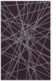 rug #333685 |  purple abstract rug