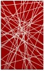 rug #333689 |  red graphic rug