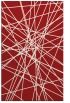 rug #333697 |  red abstract rug