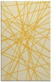 rug #333737 |  yellow graphic rug