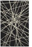 rug #333757 |  black abstract rug
