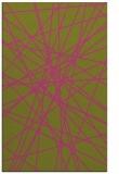 rug #333777 |  light-green abstract rug