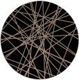 rug #333813 | round beige abstract rug