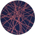rug #333893   round pink abstract rug