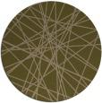 rug #333921 | round brown rug