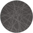 rug #333949 | round brown abstract rug
