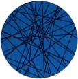 rug #333969 | round blue abstract rug