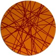 rug #333989 | round red-orange abstract rug