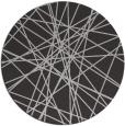rug #334001 | round orange rug