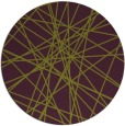rug #334029 | round purple abstract rug