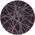 rug #334037 | round purple abstract rug