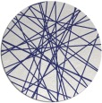 rug #334081 | round blue abstract rug