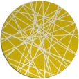 rug #334101 | round white abstract rug