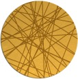 rug #334105 | round light-orange graphic rug