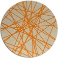 rug #334117 | round beige abstract rug