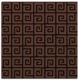 rug #334521 | square brown rug