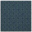 rug #334537 | square blue rug