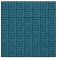 rug #334553   square blue-green popular rug