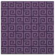 rug #334601 | square purple rug