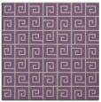rug #334685   square purple graphic rug