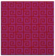 rug #334757 | square red graphic rug