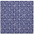rug #334785 | square blue graphic rug