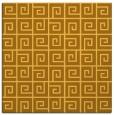 rug #334809   square light-orange graphic rug