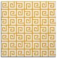 rug #334841 | square light-orange rug