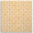 rug #334853 | square light-orange graphic rug