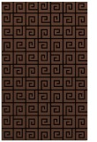 rug #335225 |  brown graphic rug