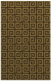 rug #335325    mid-brown graphic rug