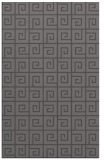 rug #335357 |  mid-brown graphic rug