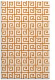 rug #335401 |  orange popular rug