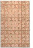 rug #335405 |  orange rug