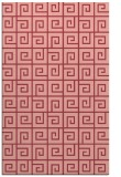 rug #335425 |  pink graphic rug