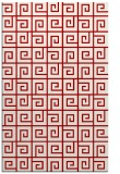 rug #335449 |  red graphic rug